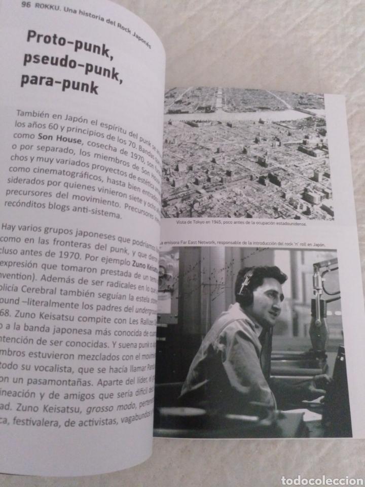 Catálogos de Música: Rokku. Una historia del rock japones. Jaime Moreno. Libro - Foto 4 - 195375126
