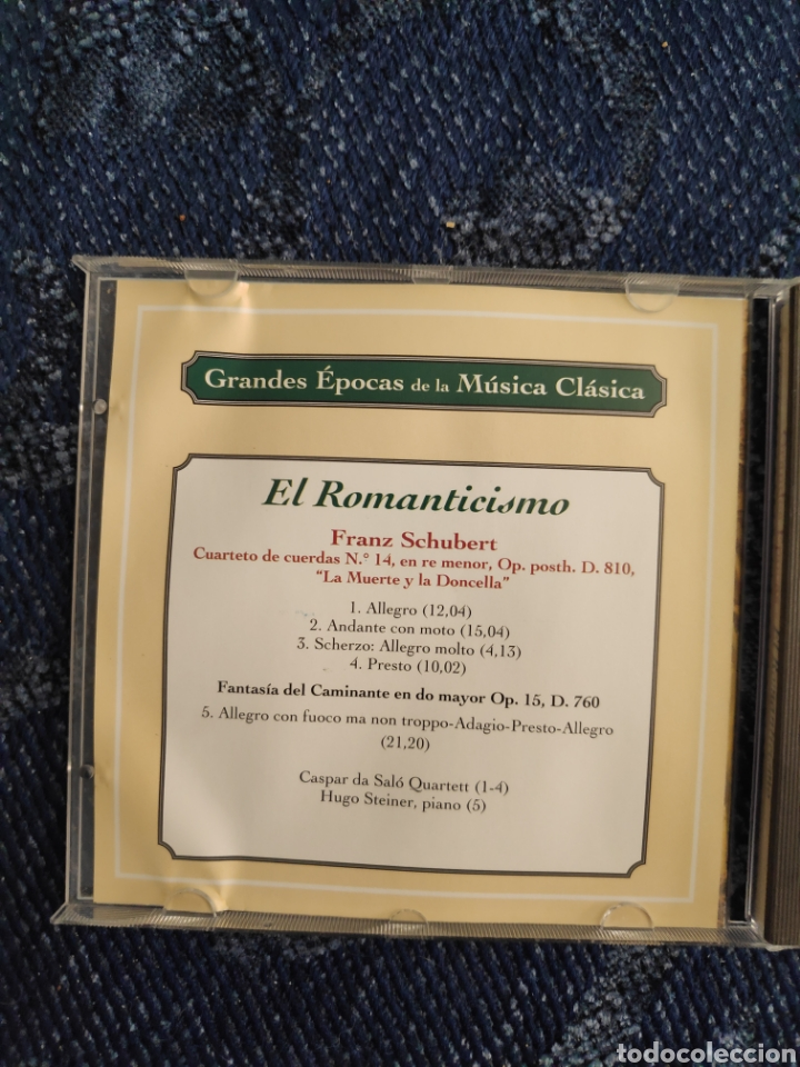 Catálogos de Música: El romanticismo - Franz Schubert - Foto 2 - 195377761