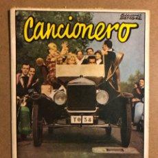 Catálogos de Música: CANCIONERO: LA TUNA. EDICIONES BISTAGNE 1962. MUY BUEN ESTADO. 16 PÁGINAS.. Lote 195439123