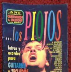 Catálogos de Música: LOS PIOJOS (CANCIONEROS DE COLECCIÓN (ARGENTINA) - LETRAS Y ACORDES PARA GUITARRA) 44 PAGINAS. Lote 196483163