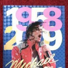 Catálogos de Música: LIBRO MICHAEL JACKSON (1958-2009) EDICIONES TIKAL - 125 PAG. ILUSTRADAS - TAPA DURA. Lote 196483443