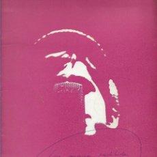 Catálogos de Música: LAS CANCIONES PROHIBIDAS DE MANUEL GERENA . Lote 202358637