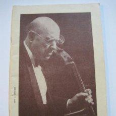 Catálogos de Música: FESTIVAL DE PRADES-PAU CASALS-REVISTA PROGRAMA AÑO 1963-FOTOS & PUBLICIDAD-VER FOTOS-(V-19.773). Lote 202587873