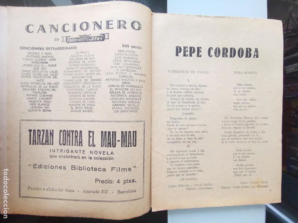 Catálogos de Música: CANCIONERO ANTIGUO PEPE CÓRDOBA EDITORIAL ALAS - Foto 3 - 202617263