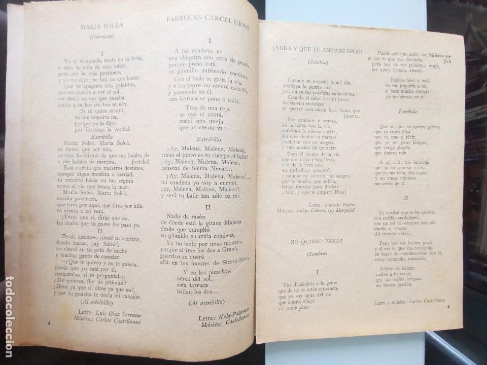 Catálogos de Música: CANCIONERO ANTIGUO PEPE CÓRDOBA EDITORIAL ALAS - Foto 4 - 202617263