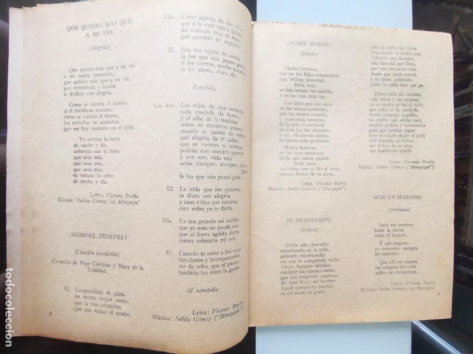 Catálogos de Música: CANCIONERO ANTIGUO PEPE CÓRDOBA EDITORIAL ALAS - Foto 5 - 202617263