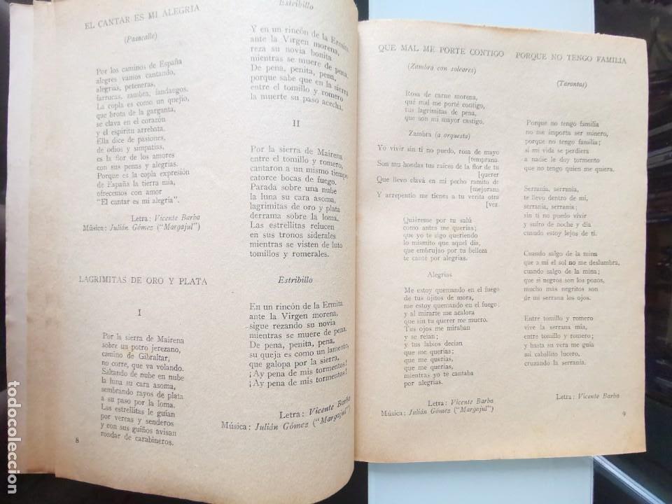 Catálogos de Música: CANCIONERO ANTIGUO PEPE CÓRDOBA EDITORIAL ALAS - Foto 6 - 202617263