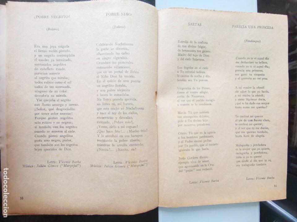 Catálogos de Música: CANCIONERO ANTIGUO PEPE CÓRDOBA EDITORIAL ALAS - Foto 7 - 202617263