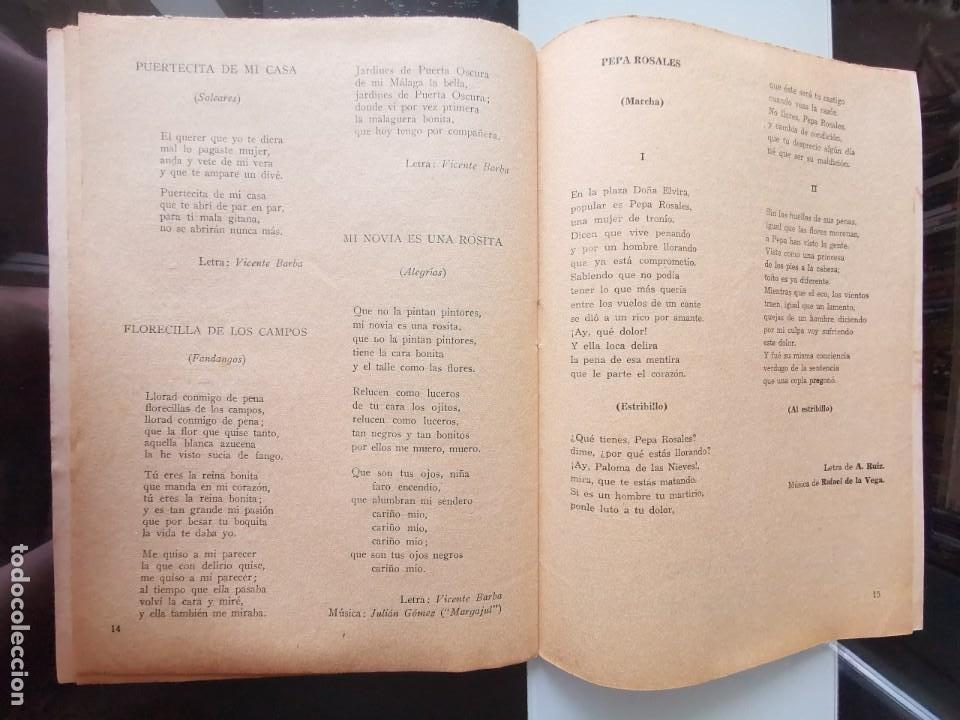 Catálogos de Música: CANCIONERO ANTIGUO PEPE CÓRDOBA EDITORIAL ALAS - Foto 9 - 202617263