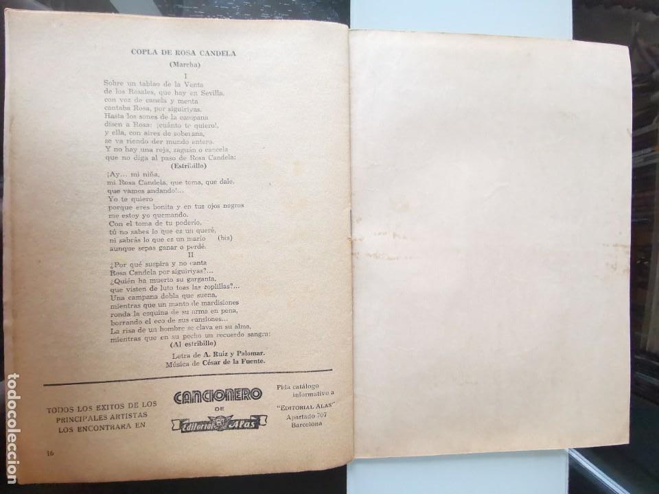 Catálogos de Música: CANCIONERO ANTIGUO PEPE CÓRDOBA EDITORIAL ALAS - Foto 10 - 202617263