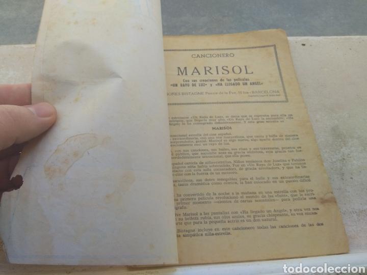 Catálogos de Música: Cancionero Marisol - Ediciones Bistagne - - Foto 4 - 202726290