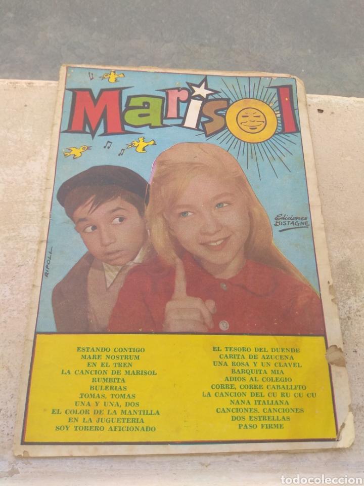 CANCIONERO MARISOL - EDICIONES BISTAGNE - (Música - Catálogos de Música, Libros y Cancioneros)