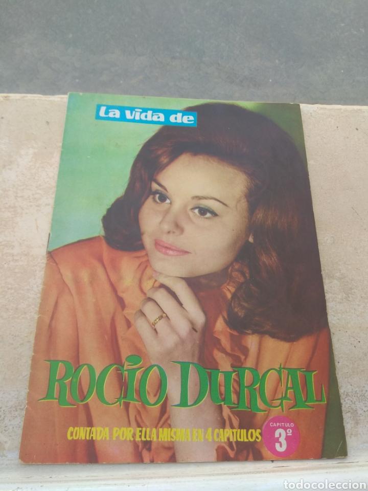 LA VIDA DE ROCIO DURCAL CONTADA POR ELLA MISMA EN 4 CAPÍTULOS - CAPÍTULO Nº3 - (Música - Catálogos de Música, Libros y Cancioneros)