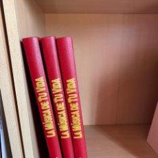 Catálogos de Música: LA MÚSICA DE MI VIDA, 3 TOMOS. PLANETA AGOSTINI. Lote 202970527