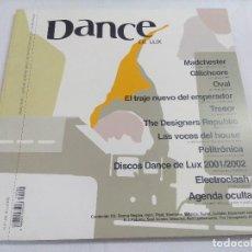 Catálogos de Música: DANCE DE LUX/DOBLE PIBOTE/INCLUYE CD.. Lote 203262455