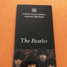 Catálogos de Música: LIBRETO A BRITISH COUNCIL EXHIBITION THE BEATLES VER FOTOS ADICIONALES. Lote 203270930
