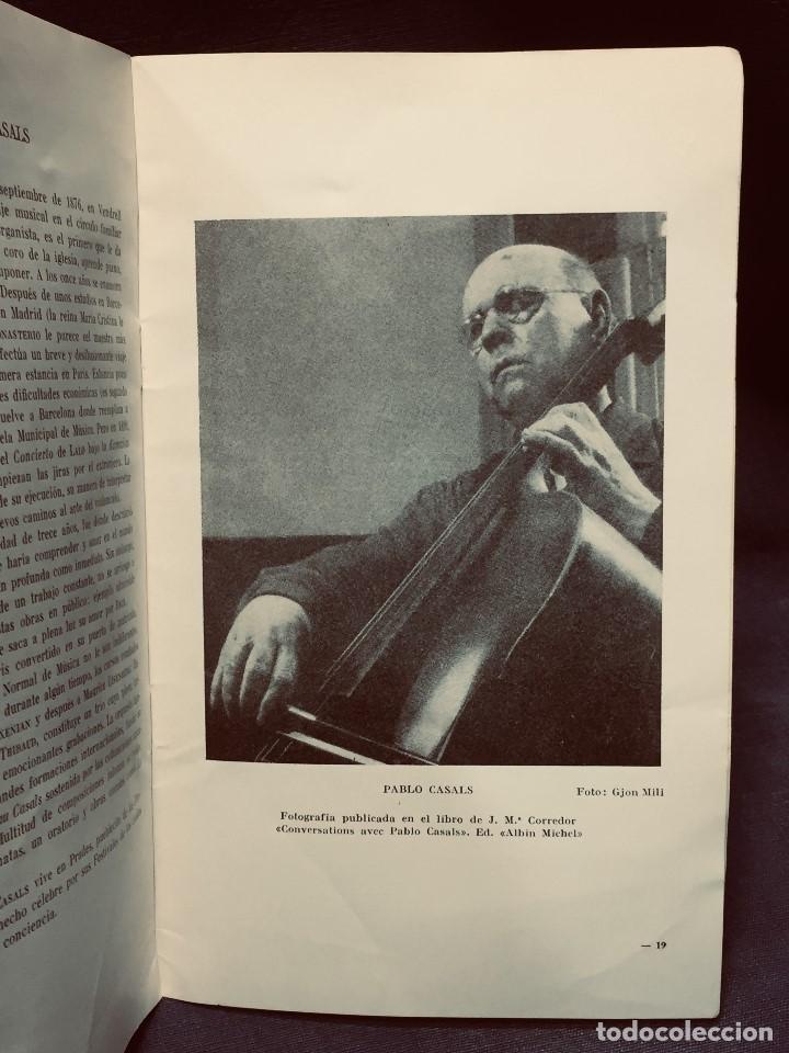 Catálogos de Música: GRABACIONES ILUSTRES PABLO CASALS 1966 DVORAK CONCIERTO SI MENOR OP 104 22X13,5CMS - Foto 5 - 203838176