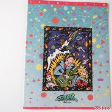 Catálogos de Música: CATALOGO GUITARRAS STARFIELD 1992. Lote 203974028