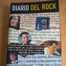 Catálogos de Música: LIBRO DIARIO DEL ROCK JOSEBA MARTIN. Lote 204434260