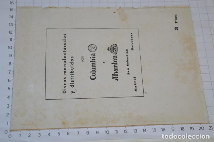 Catálogos de Música: 9 Cancioneros AÑOS 50 / 60 - Sarita Montiel, Lola Flores, Rafael Farina, J. Reina, etc.. LOTE 03 - Foto 9 - 205307507