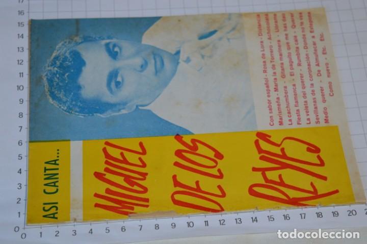 Catálogos de Música: 9 Cancioneros AÑOS 50 / 60 - Sarita Montiel, Lola Flores, Rafael Farina, J. Reina, etc.. LOTE 03 - Foto 10 - 205307507