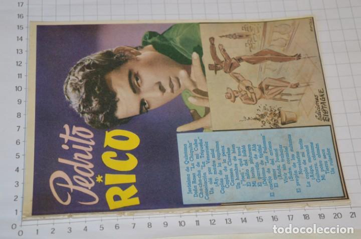 Catálogos de Música: 9 Cancioneros AÑOS 50 / 60 - Sarita Montiel, Lola Flores, Rafael Farina, J. Reina, etc.. LOTE 03 - Foto 12 - 205307507