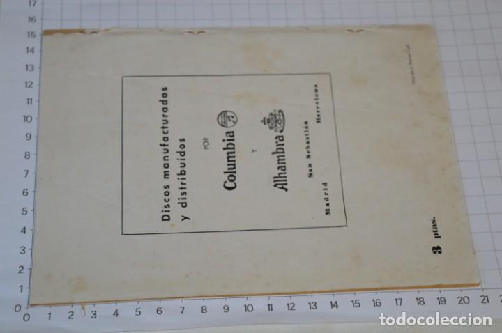 Catálogos de Música: 9 Cancioneros AÑOS 50 / 60 - Sarita Montiel, Lola Flores, Rafael Farina, J. Reina, etc.. LOTE 03 - Foto 15 - 205307507