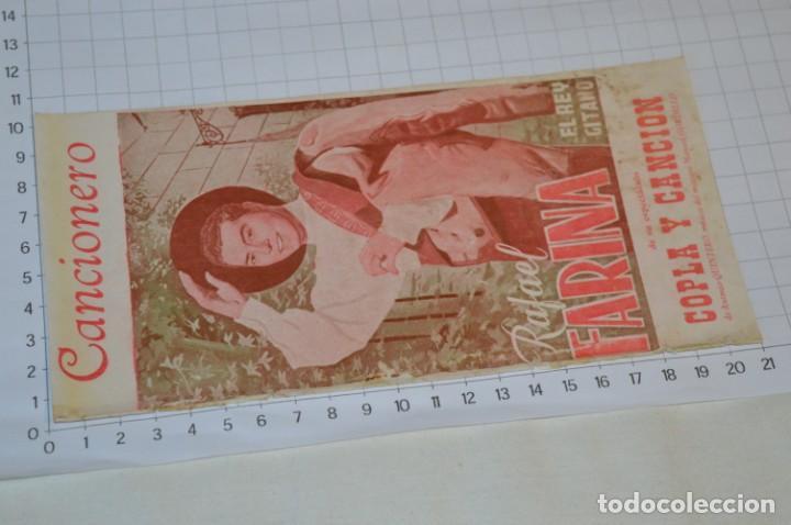 Catálogos de Música: 9 Cancioneros AÑOS 50 / 60 - Sarita Montiel, Lola Flores, Rafael Farina, J. Reina, etc.. LOTE 03 - Foto 16 - 205307507