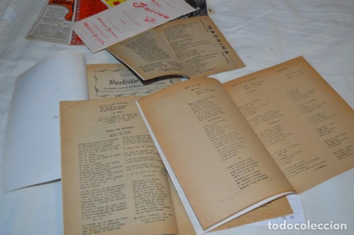 Catálogos de Música: 9 Cancioneros AÑOS 50 / 60 - Sarita Montiel, Lola Flores, Rafael Farina, J. Reina, etc.. LOTE 03 - Foto 20 - 205307507