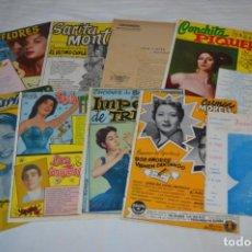 Catálogos de Música: 9 CANCIONEROS AÑOS 50 / 60 - SARITA MONTIEL, LOLA FLORES, C. MORELL, PEPE BLANCO, ETC.. LOTE 04. Lote 205309220