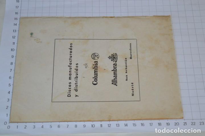 Catálogos de Música: 9 Cancioneros AÑOS 50 / 60 - Sarita Montiel, Lola Flores, C. Morell, Pepe Blanco, etc.. LOTE 04 - Foto 5 - 205309220