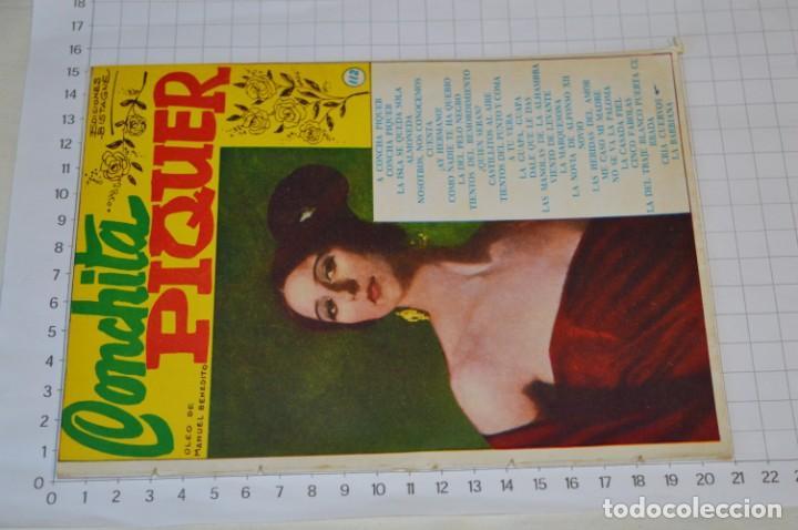 Catálogos de Música: 9 Cancioneros AÑOS 50 / 60 - Sarita Montiel, Lola Flores, C. Morell, Pepe Blanco, etc.. LOTE 04 - Foto 8 - 205309220