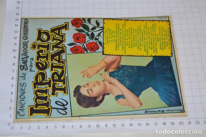 Catálogos de Música: 9 Cancioneros AÑOS 50 / 60 - Sarita Montiel, Lola Flores, C. Morell, Pepe Blanco, etc.. LOTE 04 - Foto 14 - 205309220