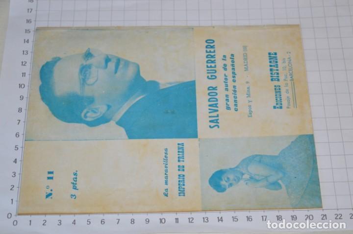 Catálogos de Música: 9 Cancioneros AÑOS 50 / 60 - Sarita Montiel, Lola Flores, C. Morell, Pepe Blanco, etc.. LOTE 04 - Foto 15 - 205309220