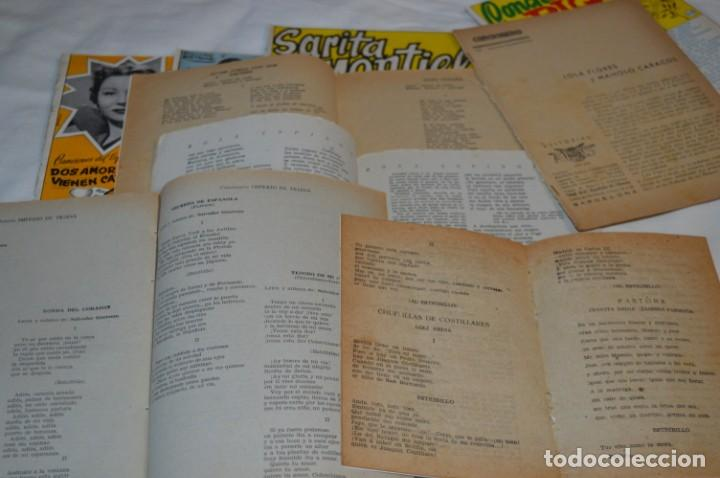 Catálogos de Música: 9 Cancioneros AÑOS 50 / 60 - Sarita Montiel, Lola Flores, C. Morell, Pepe Blanco, etc.. LOTE 04 - Foto 20 - 205309220