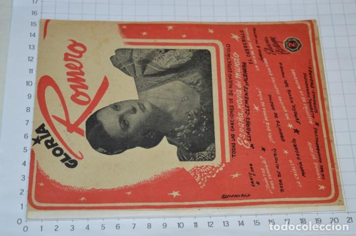 Catálogos de Música: 9 Cancioneros AÑOS 50 / 60 - Manolo Caracol, Antonio Amaya, Luis Mariano, E. Montoya, etc.. LOTE 06 - Foto 2 - 205313087