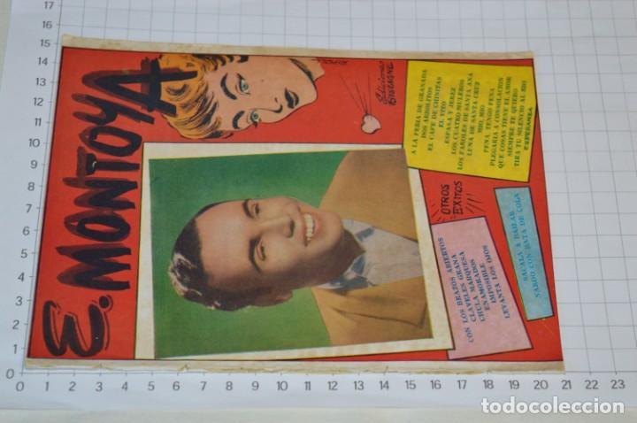 Catálogos de Música: 9 Cancioneros AÑOS 50 / 60 - Manolo Caracol, Antonio Amaya, Luis Mariano, E. Montoya, etc.. LOTE 06 - Foto 6 - 205313087