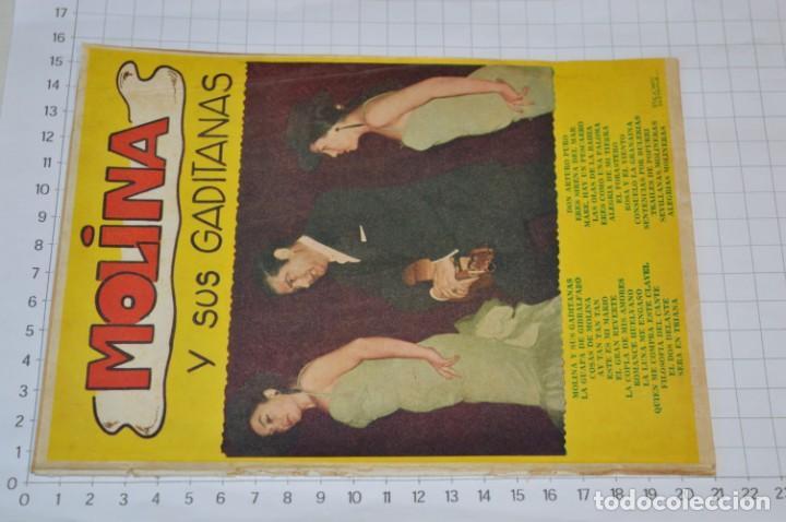 Catálogos de Música: 9 Cancioneros AÑOS 50 / 60 - Manolo Caracol, Antonio Amaya, Luis Mariano, E. Montoya, etc.. LOTE 06 - Foto 8 - 205313087