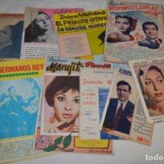 Catálogos de Música: 9 CANCIONEROS AÑOS 50 / 60 - MARUJITA DIAZ, DOLORES VARGAS, GRACIA DE TRIANA, ETC.. LOTE 07. Lote 205314820
