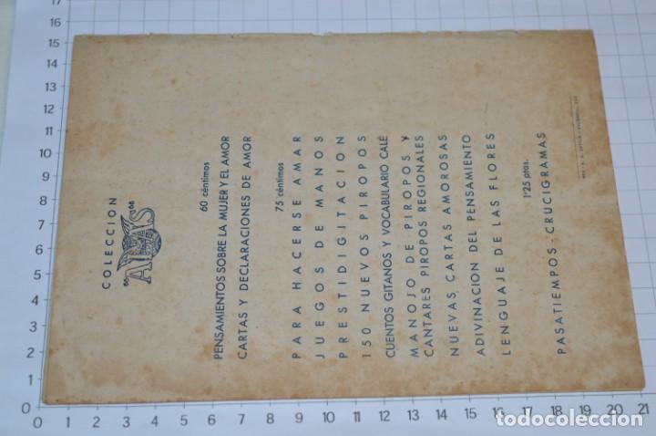 Catálogos de Música: 9 Cancioneros AÑOS 50 / 60 - Marujita Diaz, Dolores Vargas, Gracia de Triana, etc.. LOTE 07 - Foto 3 - 205314820
