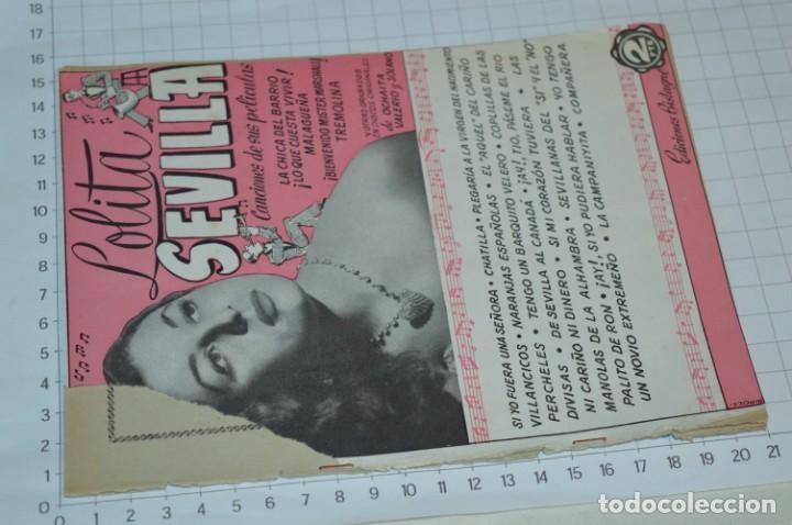 Catálogos de Música: 9 Cancioneros AÑOS 50 / 60 - Marujita Diaz, Dolores Vargas, Gracia de Triana, etc.. LOTE 07 - Foto 4 - 205314820