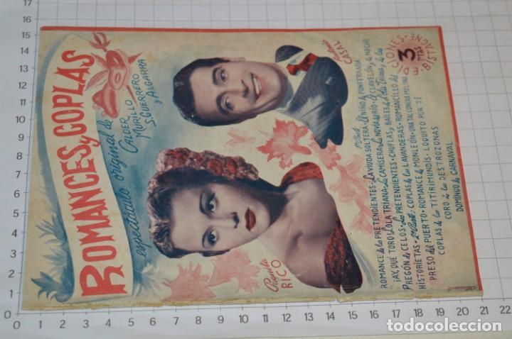 Catálogos de Música: 9 Cancioneros AÑOS 50 / 60 - Marujita Diaz, Dolores Vargas, Gracia de Triana, etc.. LOTE 07 - Foto 8 - 205314820