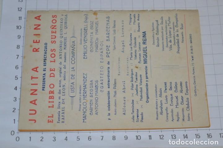 Catálogos de Música: 9 Cancioneros AÑOS 50 / 60 - Marujita Diaz, Dolores Vargas, Gracia de Triana, etc.. LOTE 07 - Foto 15 - 205314820