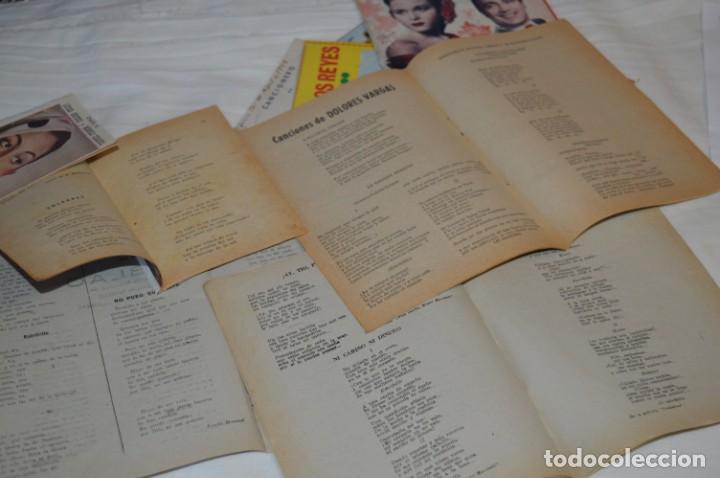 Catálogos de Música: 9 Cancioneros AÑOS 50 / 60 - Marujita Diaz, Dolores Vargas, Gracia de Triana, etc.. LOTE 07 - Foto 18 - 205314820
