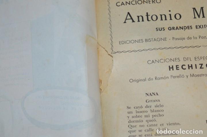 Catálogos de Música: 05 Cancioneros ANTIGUOS - Antonio Molina, Lola Flores, Conchita Piquer, etc ..LOTE 08 ¡¡Mira fotos!! - Foto 4 - 205316402