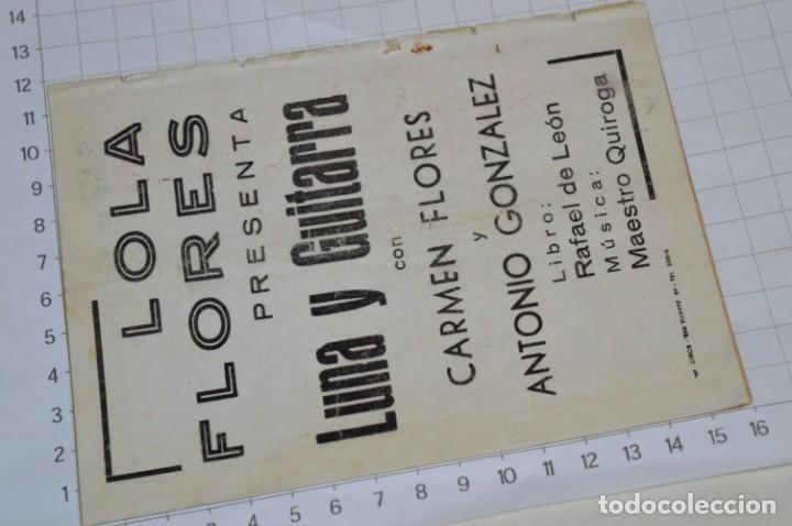 Catálogos de Música: 05 Cancioneros ANTIGUOS - Antonio Molina, Lola Flores, Conchita Piquer, etc ..LOTE 08 ¡¡Mira fotos!! - Foto 7 - 205316402