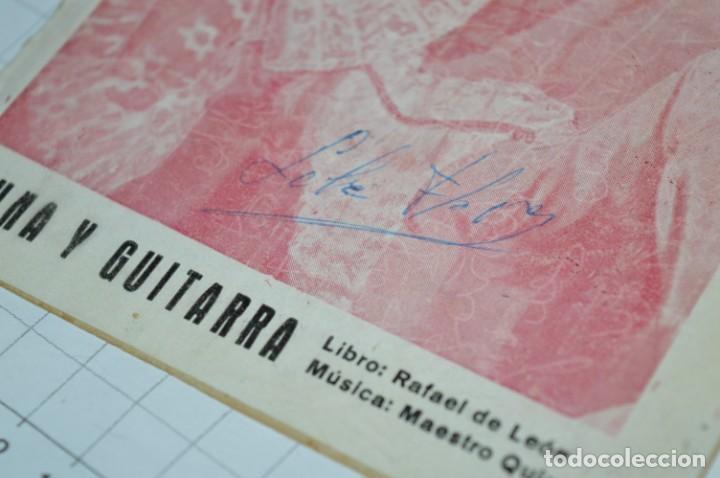 Catálogos de Música: 05 Cancioneros ANTIGUOS - Antonio Molina, Lola Flores, Conchita Piquer, etc ..LOTE 08 ¡¡Mira fotos!! - Foto 9 - 205316402