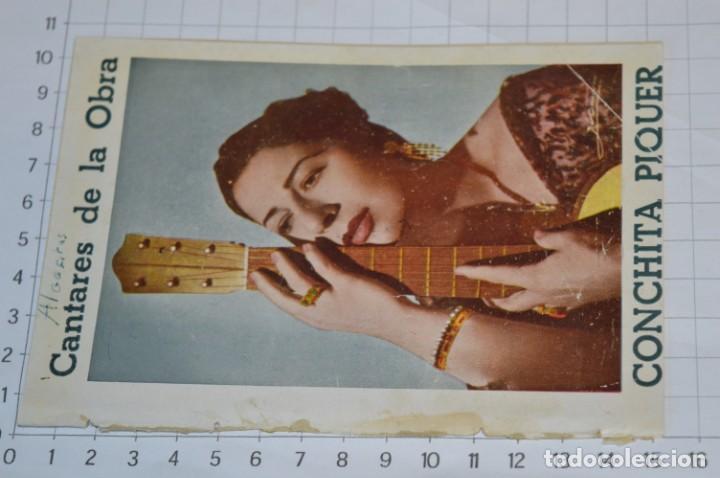 Catálogos de Música: 05 Cancioneros ANTIGUOS - Antonio Molina, Lola Flores, Conchita Piquer, etc ..LOTE 08 ¡¡Mira fotos!! - Foto 11 - 205316402