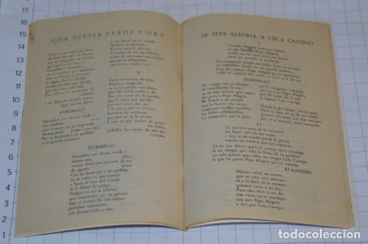 Catálogos de Música: 05 Cancioneros ANTIGUOS - Antonio Molina, Lola Flores, Conchita Piquer, etc ..LOTE 08 ¡¡Mira fotos!! - Foto 15 - 205316402