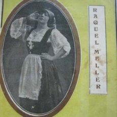 Catálogos de Música: RAQUEL MELLER-MINI REVISTA CON LAS LETRAS DE LA CUPLETISTA-IMP· VIUDA J.COLLAZOS-VER FOTOS(V-20.204). Lote 205318515